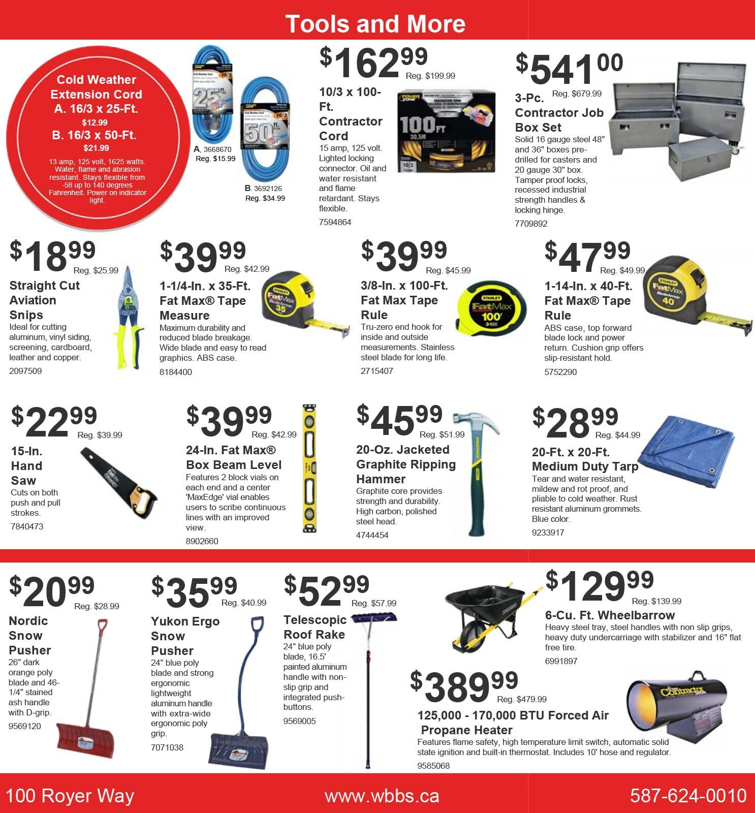 sale flyer dukes building supplies